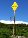 Power Cable Warning Sign
