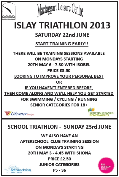 Triathlon 2013 Advert